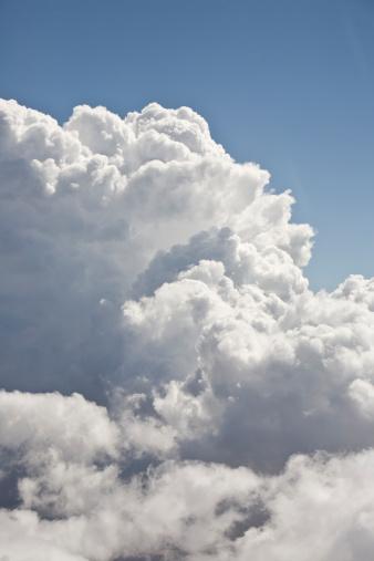Cumulus Cloud「Cumulus clouds, aerial view」:スマホ壁紙(1)