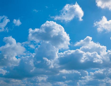積雲「Cumulus clouds」:スマホ壁紙(4)