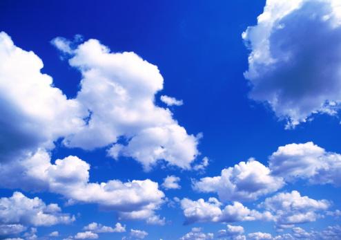 Sky Only「Cumulus clouds」:スマホ壁紙(2)