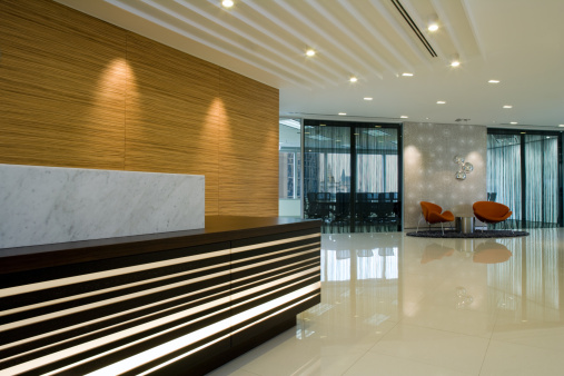 Hotel Reception「Reception And Waiting Area」:スマホ壁紙(1)