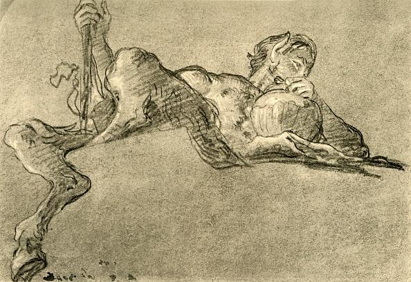 Animal Body Part「Satyr With Wine Jug」:写真・画像(10)[壁紙.com]