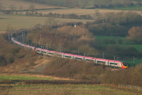Test Track「A double Virgin Trains Pendolino set on test on Alstom's Midlands Test Track near Asfordby」:写真・画像(3)[壁紙.com]