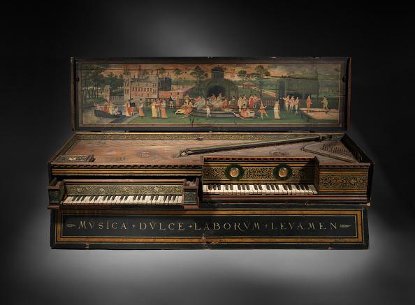 Musical instrument「Double Virginal」:写真・画像(0)[壁紙.com]
