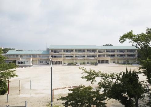 Elementary School「School building」:スマホ壁紙(12)