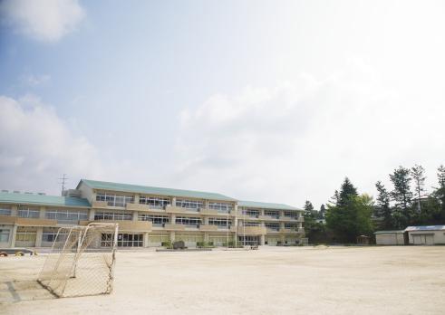 Japan「School building」:スマホ壁紙(2)