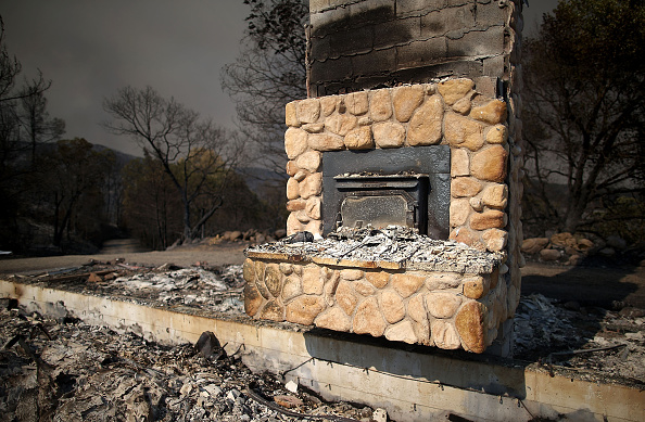 Fireplace「Rocky Fire Grows To 23,000 Acres In Drought-Ridden Northern California」:写真・画像(6)[壁紙.com]