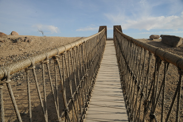 Suspension Bridge「Tacna」:写真・画像(3)[壁紙.com]