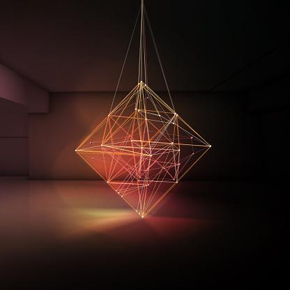 Imagination「Light Lines Room 02」:スマホ壁紙(17)