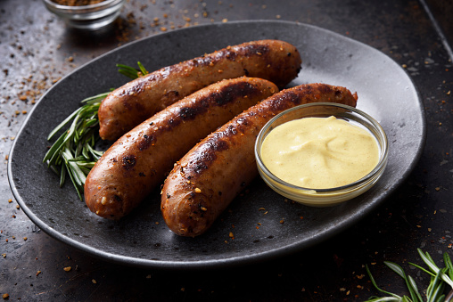 Sausage「Sausages with dijon mustard sauce and seasoning」:スマホ壁紙(13)