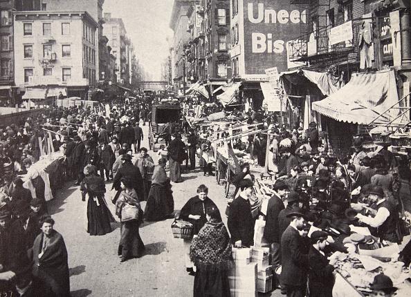 Market Vendor「Immigrants On New York City's East Side USA 1900s」:写真・画像(14)[壁紙.com]