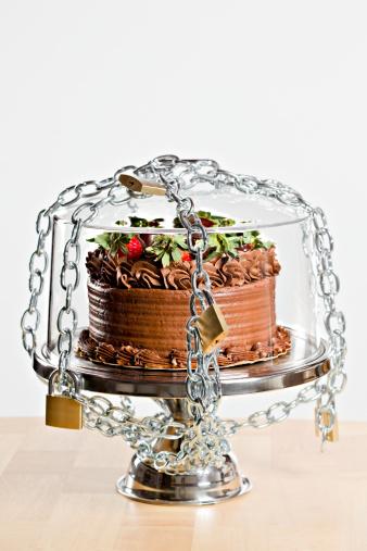 チョコレート「ダイエットケーキ」:スマホ壁紙(1)