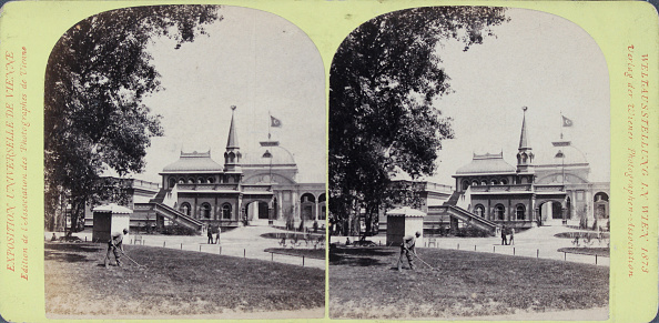 Pavilion「World Exhibition In Vienna In 1873: Russian Emperor Pavilion. Publisher Of The Vienna Photographers Association. Stereo Photograph.」:写真・画像(13)[壁紙.com]
