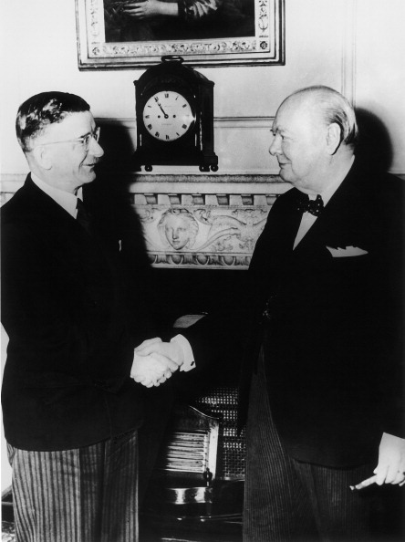 Politics and Government「Leopold Figl And Winston Churchill. Photograph.」:写真・画像(16)[壁紙.com]