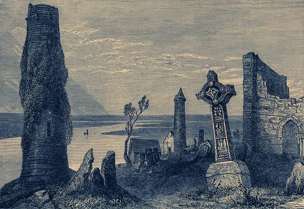 歴史「The Monastery at Clonmacnoise」:写真・画像(6)[壁紙.com]