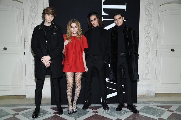 パリ・メンズ・ファッションウィーク「Valentino : Front Row - Paris Fashion Week - Menswear F/W 2018-2019」:写真・画像(5)[壁紙.com]