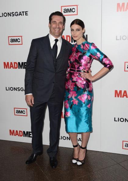 "Pencil Dress「Premiere Of AMC's ""Mad Men"" Season 6 - Arrivals」:写真・画像(18)[壁紙.com]"
