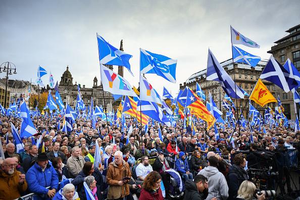 Glasgow - Scotland「Nicola Sturgeon Addresses Indyref2 Rally」:写真・画像(12)[壁紙.com]