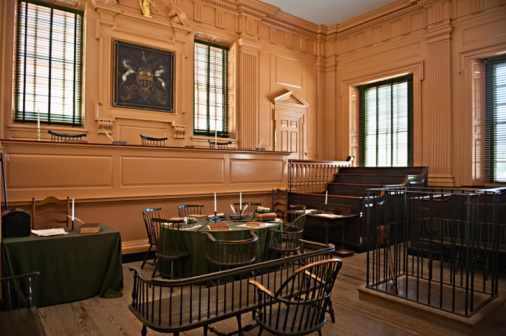 Philadelphia - Pennsylvania「Independence Hall Court Room」:スマホ壁紙(16)