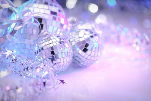 Dance Music「Party decoration with disco balls」:スマホ壁紙(13)