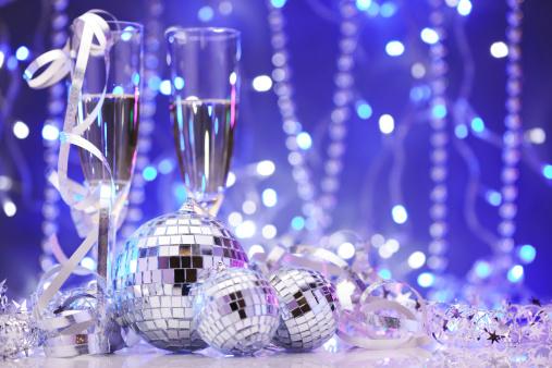 お正月「ディスコボールのパーティの装飾」:スマホ壁紙(0)