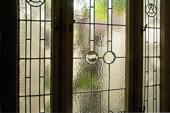 Patio Doors「Glass Door To Patio In A Residential Building On Dannebergplatz 11」:写真・画像(0)[壁紙.com]