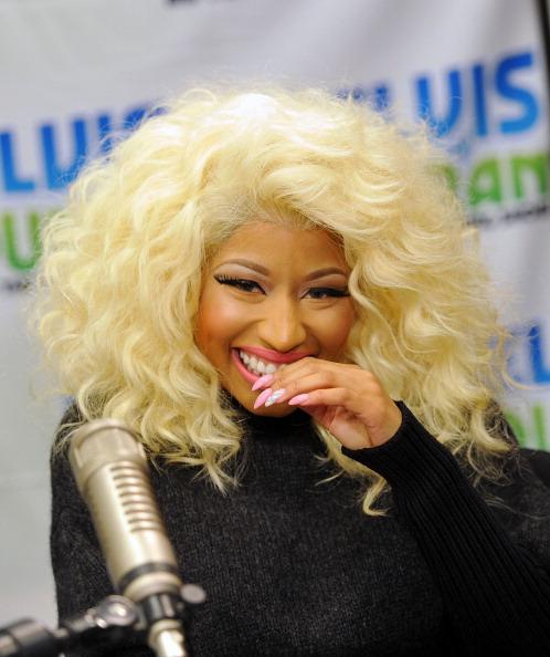 Mike Coppola「Nicki Minaj Visits Elvis Duran Z100 Morning Show」:写真・画像(8)[壁紙.com]