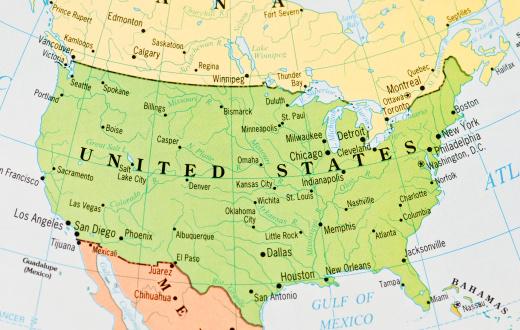 Map「米国の地」:スマホ壁紙(12)