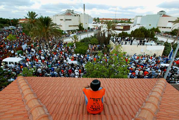 Crowd「Settlers Hold A Mass Prayer Against Disengagement」:写真・画像(11)[壁紙.com]