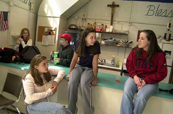 Talking「Catholic Kids Discuss Church Issues」:写真・画像(10)[壁紙.com]
