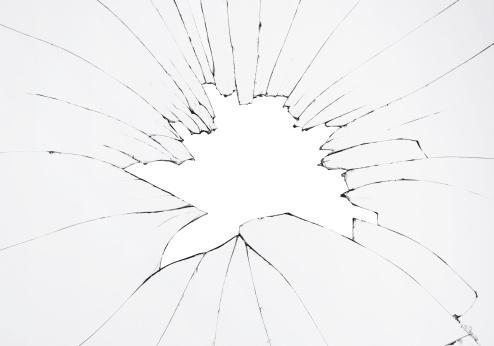 Broken「Smashed glass」:スマホ壁紙(12)