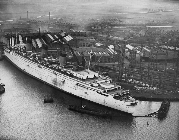 Fox Photos「RMS Queen Mary」:写真・画像(18)[壁紙.com]