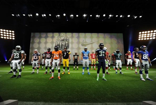 Philadelphia Eagles「Nike Debuts New NFL Uniforms For 2012 Season」:写真・画像(0)[壁紙.com]
