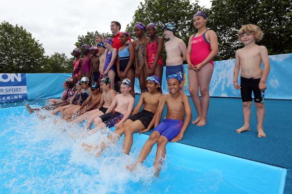 Sharron Davies「Decathlon In Partnership With Speedo Presents Big Summer Splash Event」:写真・画像(17)[壁紙.com]
