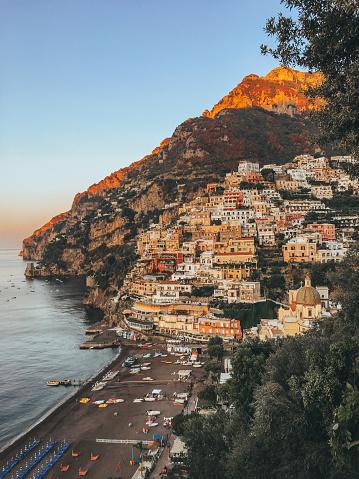 Amalfi Coast「Cities of Amalfi coast, Italy」:スマホ壁紙(17)