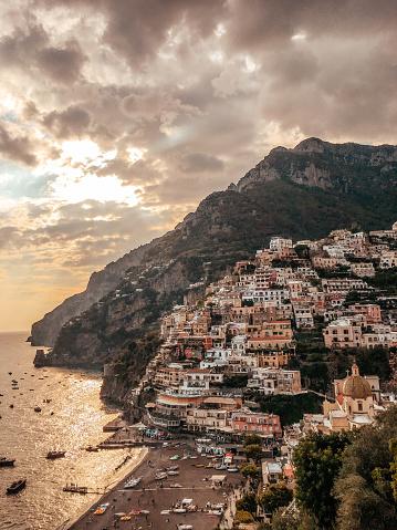 Amalfi Coast「Cities of Amalfi coast, Italy」:スマホ壁紙(12)