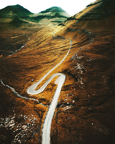 Atmospheric Mood「on the road at the faroe islands」:スマホ壁紙(7)