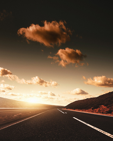 Empty Road「on the road on the derbyshire and yorkshire」:スマホ壁紙(7)