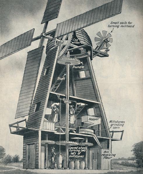Stuart - Florida「A Smock Windmill In Stuart Days」:写真・画像(16)[壁紙.com]