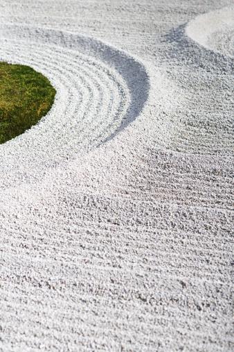 和柄「禅ガーデン」:スマホ壁紙(6)