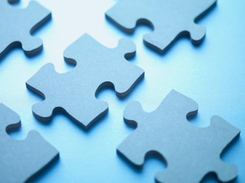 Interlocked「Jigsaw puzzle pieces」:スマホ壁紙(16)