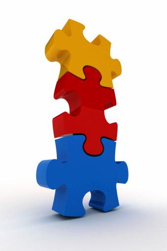 Three Objects「Jigsaw Puzzle」:スマホ壁紙(3)
