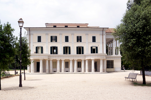 Palace「Casino Nobile in Villa Torlonia, Rome Italy」:スマホ壁紙(8)