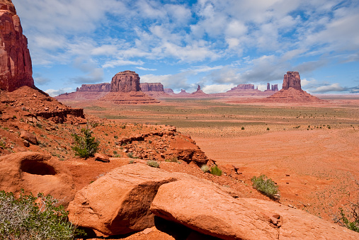 Steppe「Monument Valley from North Window Overlook」:スマホ壁紙(10)