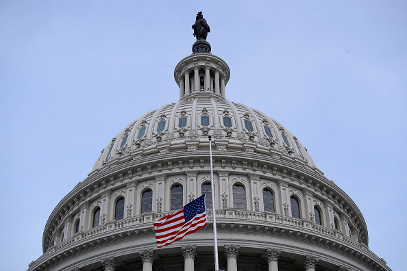 Capitol Hill「Flags Fly At Half Staff In Washington DC For Mass Shooting Victims」:写真・画像(15)[壁紙.com]