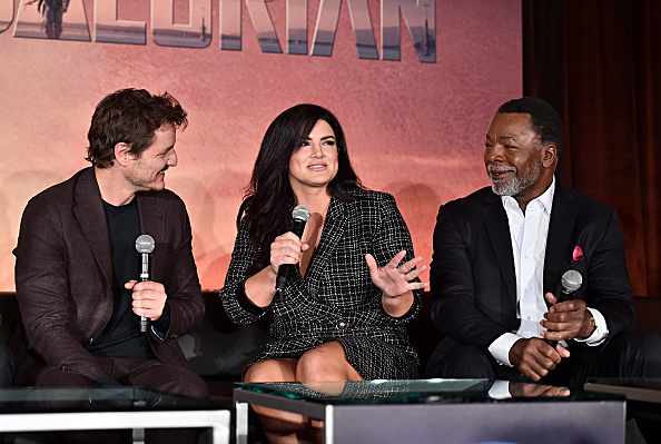 Gina Carano「Press Conference for the Disney+ Exclusive Series The Mandalorian」:写真・画像(16)[壁紙.com]