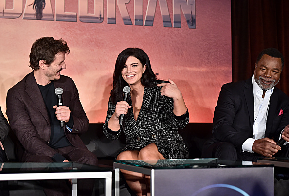 Gina Carano「Press Conference for the Disney+ Exclusive Series The Mandalorian」:写真・画像(4)[壁紙.com]