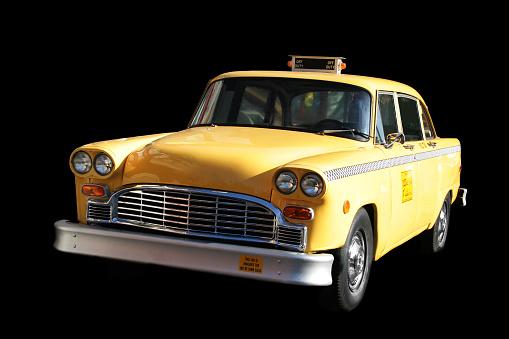 イエローキャブ「オールドニューヨークのタクシー」:スマホ壁紙(12)