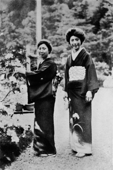 1900-1909「You cannot understand Japan without understanding the Japanese woman', c1900, (1921)」:写真・画像(11)[壁紙.com]