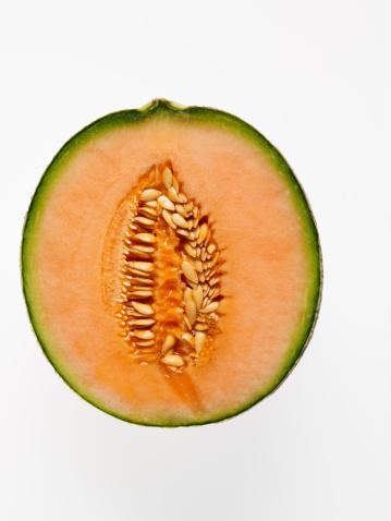 メロン「Sliced cantaloupe」:スマホ壁紙(3)