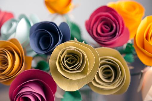 バラ「Paper Flowers」:スマホ壁紙(19)
